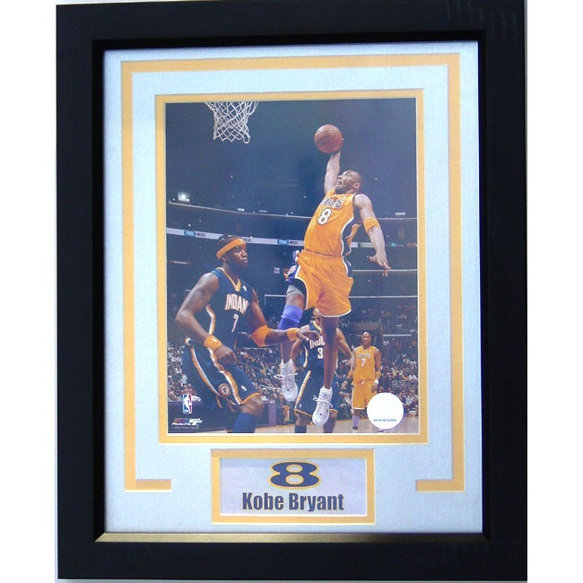 Kobe Bryant Framed Collectible Picture