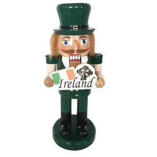 Santa's Workshop Irish Nutcracker