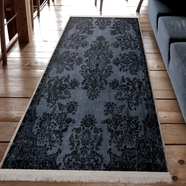 Orian Rugs Patterson Charcoal: Shop Orian Rugs Providence Gatehouse Charcoal Area Rug