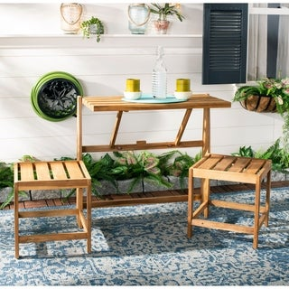 "Safavieh Outdoor Living Belamy Transformer Bench - 63"" x 19.6"" x 31.5"""