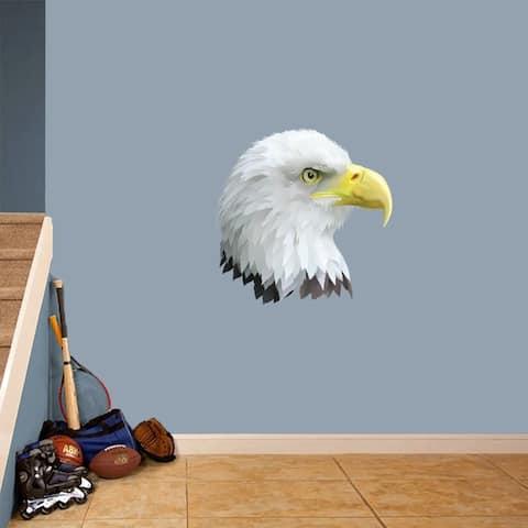 Eagle Head Mascot Printed Wall Decal