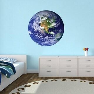 Earth Printed Wall Decal