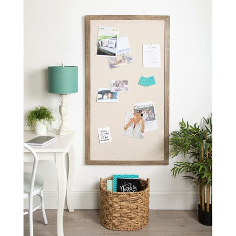 DesignOvation Bacie Framed Pinboard