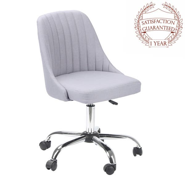 Shop Porthos Home Office Chairs Deluxe Quality Ergonomic Height Adjustable Overstock 22174745 Dark Grey