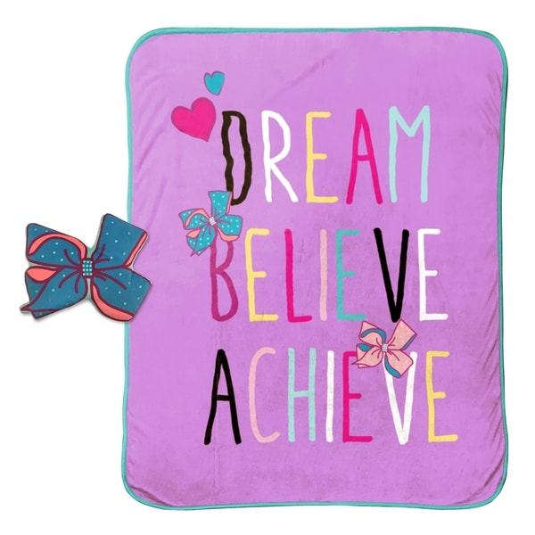 Shop Nickelodeon Jojo Siwa Dream Believe Travel Throw And