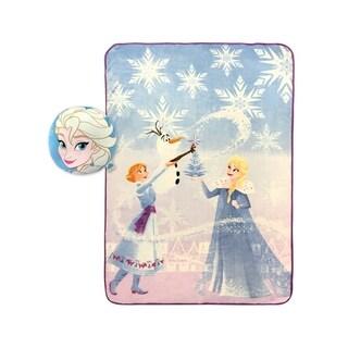 Disney Frozen Elsa Nogginz and Blanket Set