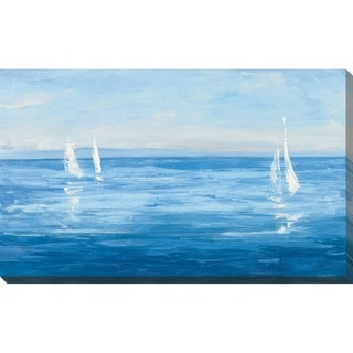 """Link to """"Open Sail with Turquoise"""" by Julia Purinton Print on Canvas Similar Items in Canvas Art"""