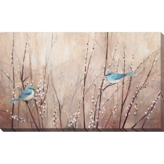 """Link to """"Pretty Birds"""" by Julia Purinton Print on Canvas Similar Items in Canvas Art"""