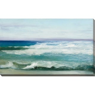 """Link to """"Azure Ocean"""" by Julia Purinton Print on Canvas Similar Items in Canvas Art"""