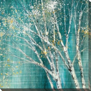"""Link to """"Blue Birch Horizontal I"""" by Julia Purinton Print on Canvas Similar Items in Canvas Art"""