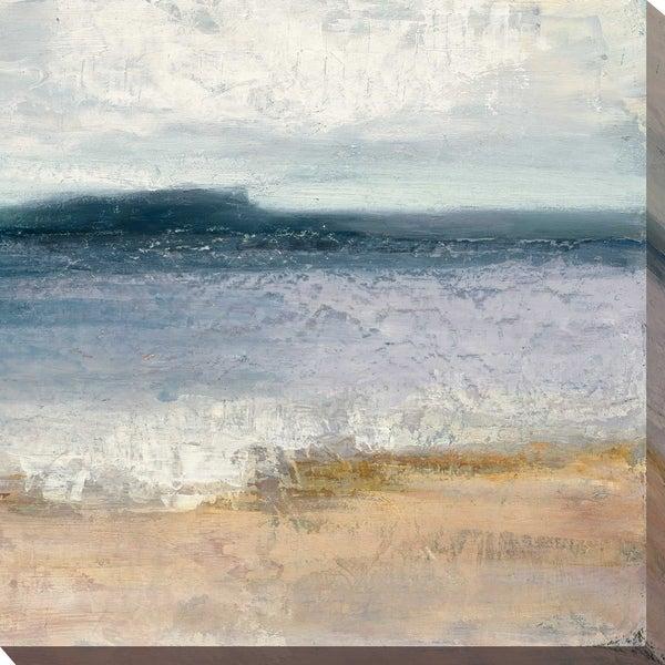 """Indigo Isle II"" by Julia Purinton Print on Canvas. Opens flyout."