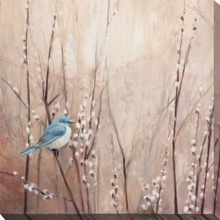 """Link to """"Pretty Birds I"""" by Julia Purinton Print on Canvas Similar Items in Canvas Art"""