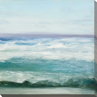 """Link to """"Azure Ocean II"""" by Julia Purinton Print on Canvas Similar Items in Canvas Art"""