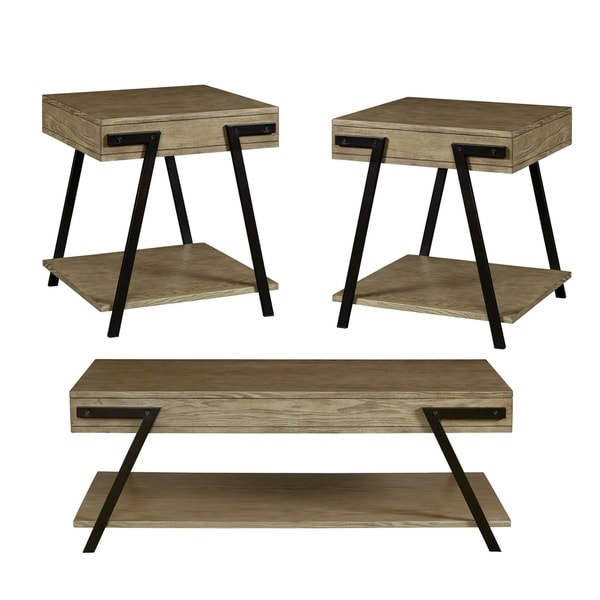 3 Pack (Cocktail & Two End Tables)