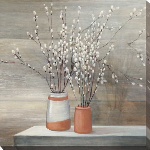 """""""Willow Still Life I"""" by Julia Purinton Print on Canvas"""