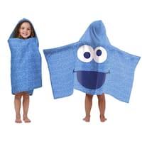 Sesame StreetCookie Monster Cotton Hooded Towel