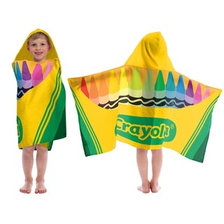 Crayola Classic Multi Color Hooded Towel
