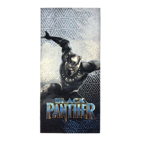 Marvel Black Panther Warrier King Beach Towel