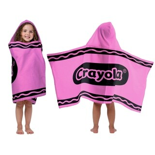 CrayolaPink Cotton Hooded Towel