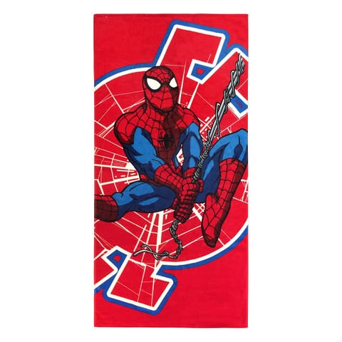 Marvel Spiderman Spidey Jumpy Beach Towel
