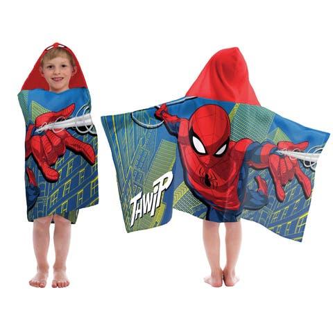 Marvel Spiderman Thwip Hooded Towel