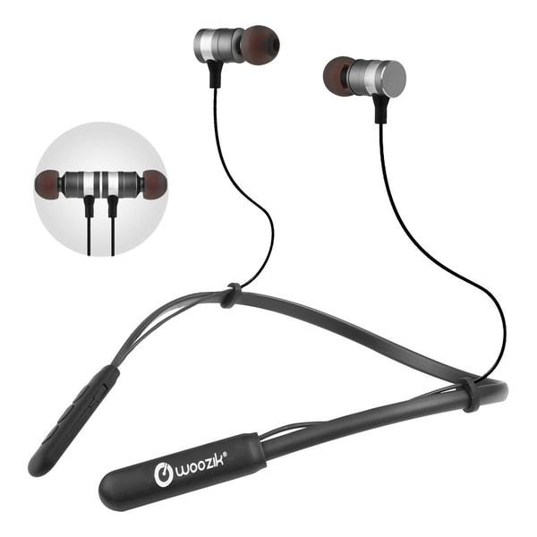 13a48847c72 Woozik Flex Wireless In-Ear Headphones,Neckband Headset,iPX4 Sweatproof  Sport Fit with