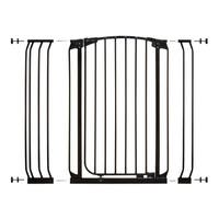 Dreambaby Chelsea Tall Auto Close Stay Open Gate Combo Pack
