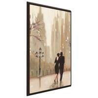 """""""An Evening Out Neutral II"""" by Julia Purinton Print on Canvas in Floating Frame"""