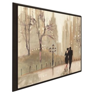 """""""An Evening Out Neutral I"""" by Julia Purinton Print on Canvas in Floating Frame"""
