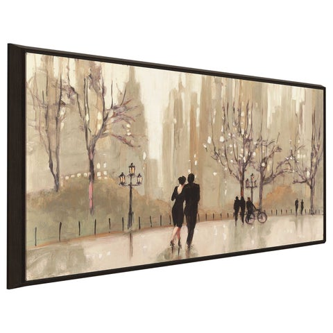 """""""An Evening Out Neutral"""" by Julia Purinton Print on Canvas in Floating Frame"""