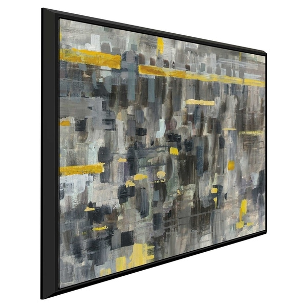 """""""Reflections Crop II"""" Print on Canvas in Floating Frame"""