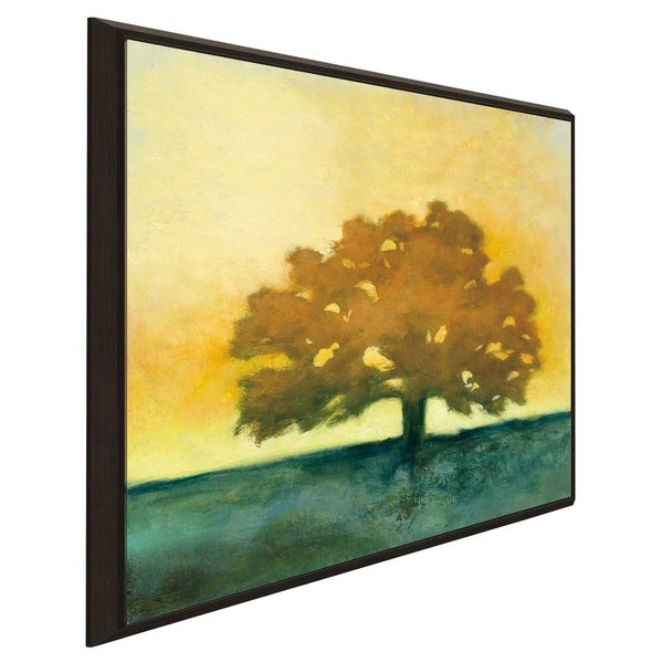 """""""Under the Oak II"""" by Julia Purinton Print on Canvas in Floating Frame"""