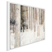 """""""Warm Winter Light II"""" by Julia Purinton Print on Canvas in Floating Frame"""
