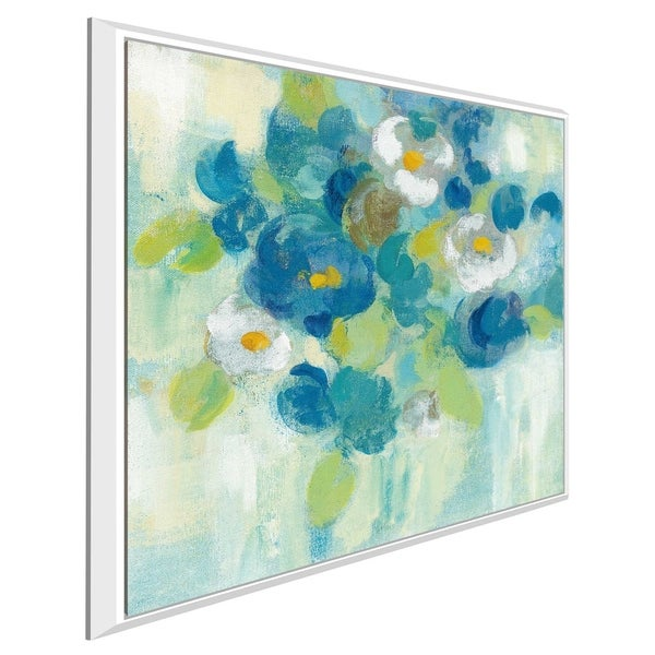 """""""Spring Aroma III Yellow"""" by Silvia Vassileva Print on Canvas in Floating Frame"""
