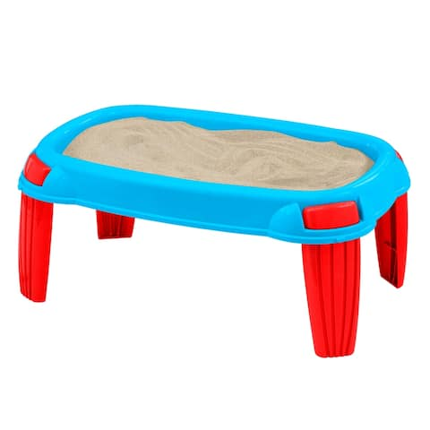 American Plastic Toys Kids Outdoor Sand Table 4-Pack