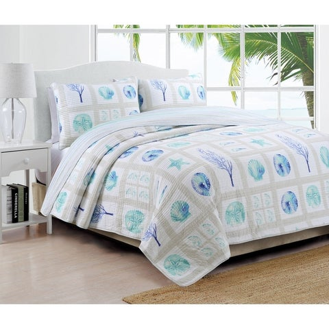 Coastal Design Destin Quilt Set