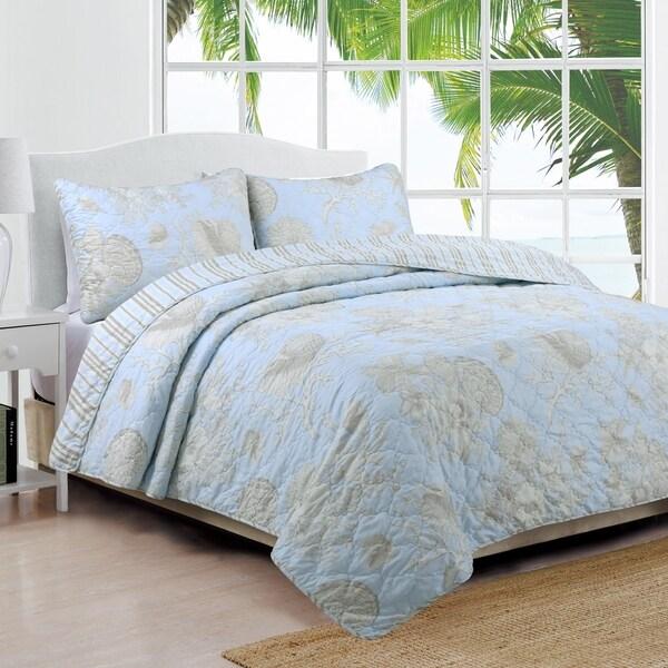 Coastal Design Naples Quilt Set