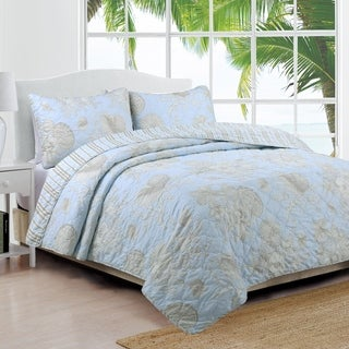 Coastal Design Naples Quilt Set