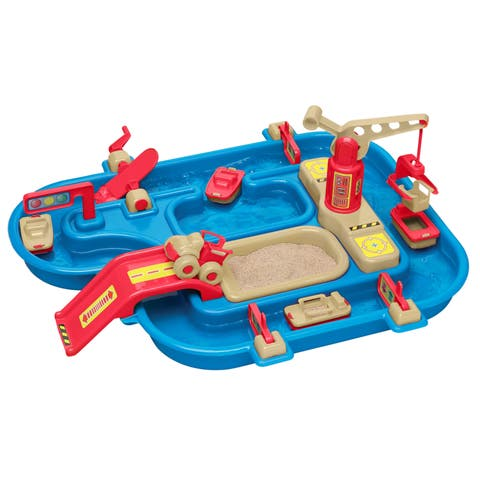 American Plastic Toys Sand & Water Playset 4-Pack
