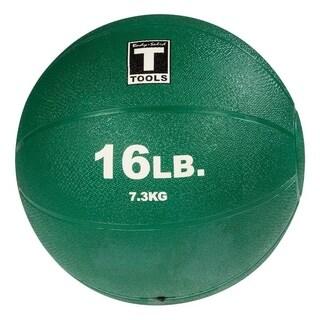 Body Solid Tools BSTMB16 16lb Medicine Ball - Green