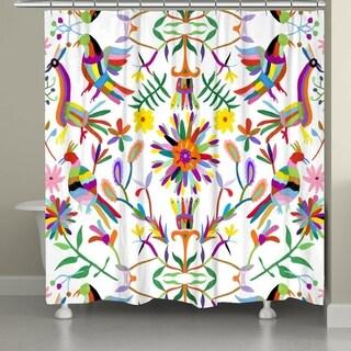 Laural Home Whimsy Folk Art Shower Curtain
