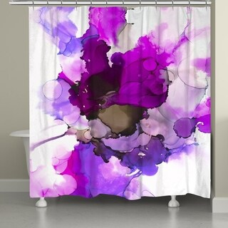 Laural Home Luminescent Jewels Shower Curtain