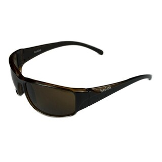 Bolle Mens Keelback Shiny Black/Brown w/ TLB Dark Lens - Black