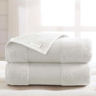 Amrapur Overseas Air Cloud 2-Pack Oversized Bath Sheet Set