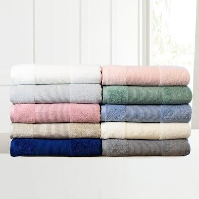 Modern Threads Air Cloud 6-Piece Bath Towel Set