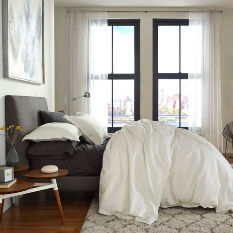 FlatIron Cotton/Linen Duvet Cover
