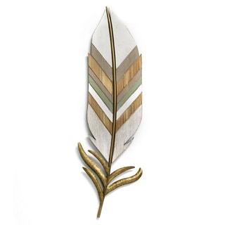 Stratton Home Decor Boho Wall Feather