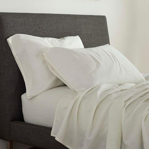 FlatIron Cotton/Linen Sheet Set