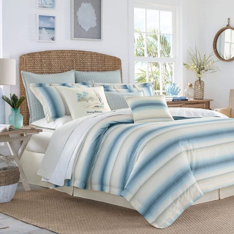 Tommy Bahama La Prisma Stripe Duvet Cover Set