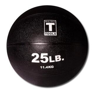 Body Solid Tools BSTMB25 25lb Medicine Ball - Black